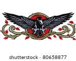 raven wood | Shutterstock .eps vector #80658877