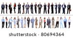 crowd or group of business... | Shutterstock . vector #80694364