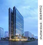 3d business building   Shutterstock . vector #80694952