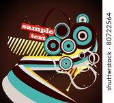 vector abstract trendy design... | Shutterstock .eps vector #80722564