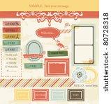 vintage design elements  3  | Shutterstock .eps vector #80728318
