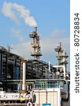 gas processing factory | Shutterstock . vector #80728834