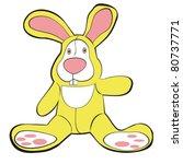 vector illustration of plush... | Shutterstock .eps vector #80737771