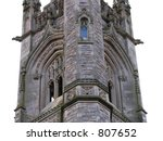 stone church tower. | Shutterstock . vector #807652