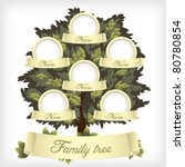 family tree.vector illustration. | Shutterstock .eps vector #80780854