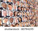 Many The Isolated Portraits Of...