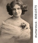 A Vintage Photo Portrait From...