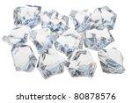 twelve cubes are next to each... | Shutterstock . vector #80878576