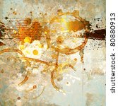 grunge background with space... | Shutterstock .eps vector #80880913