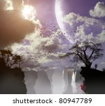 three dimensional nature ... | Shutterstock . vector #80947789