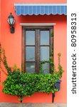 balcony full of flowers | Shutterstock . vector #80958313
