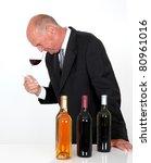 senior man in wine business | Shutterstock . vector #80961016
