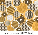 seamless floral pattern in... | Shutterstock .eps vector #80964955