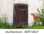 Small Door In An Old House