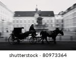 Horse Driven Carriage At...