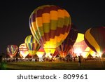 balloon glow | Shutterstock . vector #809961