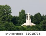 The Hill Of Three Crosses In...
