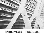 abstract architecture detail | Shutterstock . vector #81038638