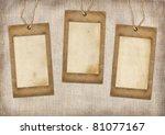 Three Cardboard Frames