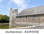 castle in France - stock photo