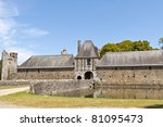 old castle in France - stock photo