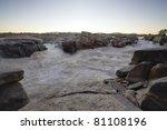 Orange River At Augrabies Falls ...