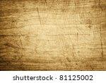 old wooden board  background | Shutterstock . vector #81125002