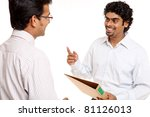 indian young business people... | Shutterstock . vector #81126013