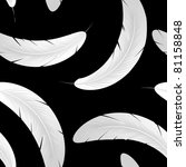 seamless pattern with white... | Shutterstock .eps vector #81158848