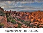 hdr image of a devil's garden... | Shutterstock . vector #81216385