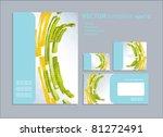vector template for business... | Shutterstock .eps vector #81272491