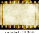 vintage background with film... | Shutterstock . vector #81278842