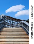 stairway against the blue sky | Shutterstock . vector #81308869