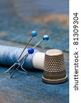 Thread  Needles And Thimble