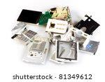 damage phone | Shutterstock . vector #81349612
