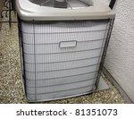 malfunctioning heat pump... | Shutterstock . vector #81351073