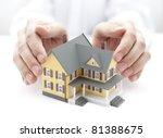 House insurance - stock photo