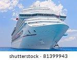 Cruise Ship Anchored Near...