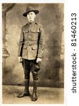 american soldier from wwi   Shutterstock . vector #81460213