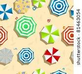 a beach background seamless... | Shutterstock .eps vector #81463054