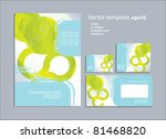 vector template for business... | Shutterstock .eps vector #81468820