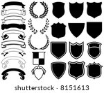 ribbons  banners  laurels  and... | Shutterstock .eps vector #8151613