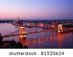 View Of Chain Bridge  Hungaria...