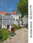 typical wooden houses in bergen ... | Shutterstock . vector #81521779