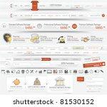 web design navigation elements  ...