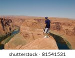 Looking Into The Horseshoe Bend