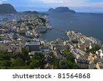 alesund in norway | Shutterstock . vector #81564868