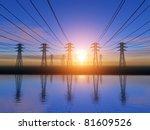 power line   Shutterstock . vector #81609526
