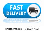 fast delivery banner | Shutterstock . vector #81624712