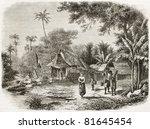 Old Illustration Of Natives...